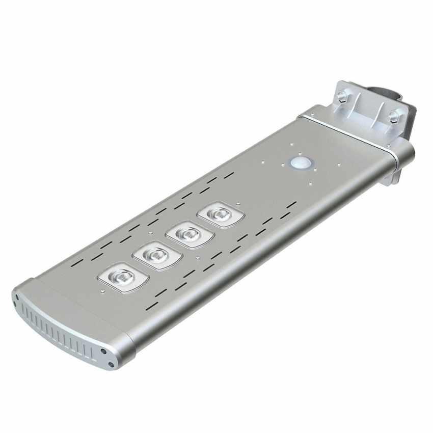 Lampadaire solaire avec télécommande Led 3000 Lumen SMART OPTIUM - scontato