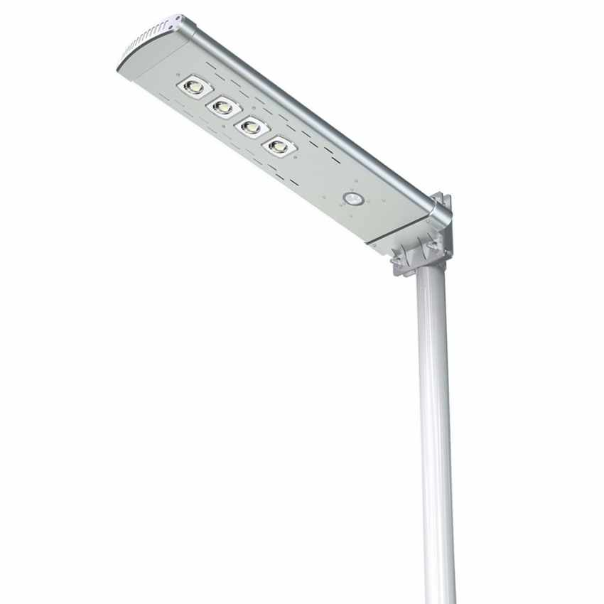 Lampadaire solaire avec télécommande Led 3000 Lumen SMART OPTIUM - arredamento