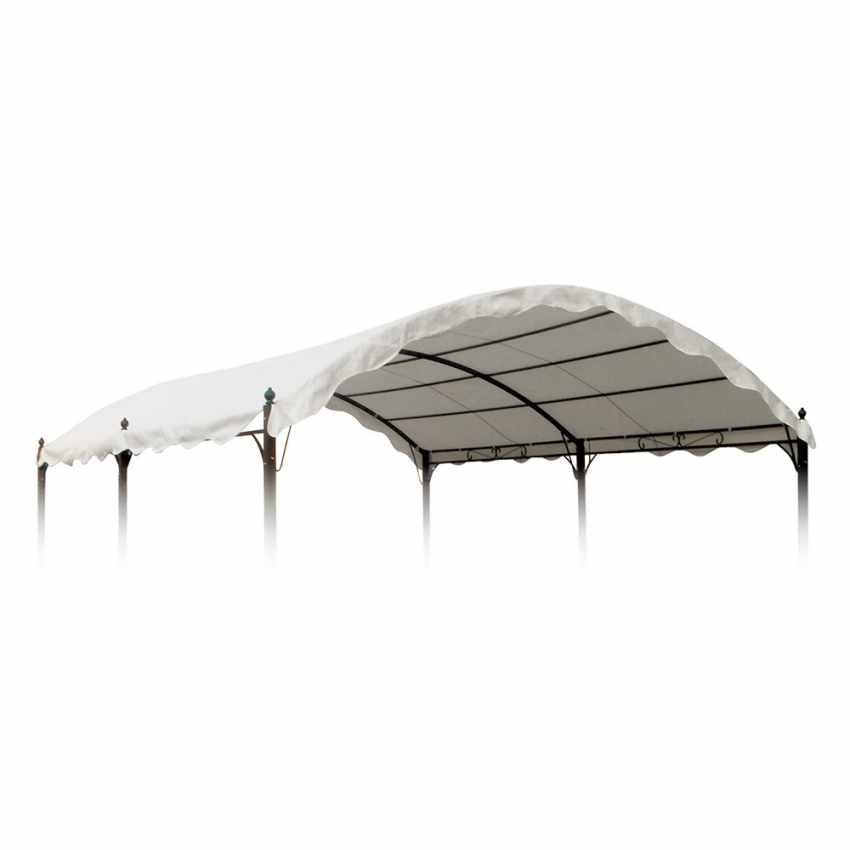 Toile de remplacement couverture pour gazebo Onda 3x4 - esterno