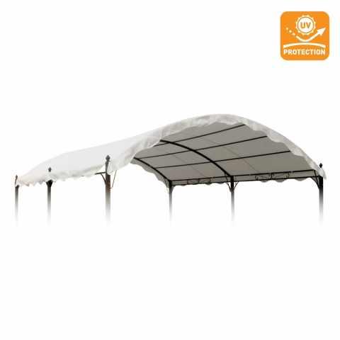TEGC304UVA - Toile de remplacement 3x4 gazebo Onda couverture uv - beige