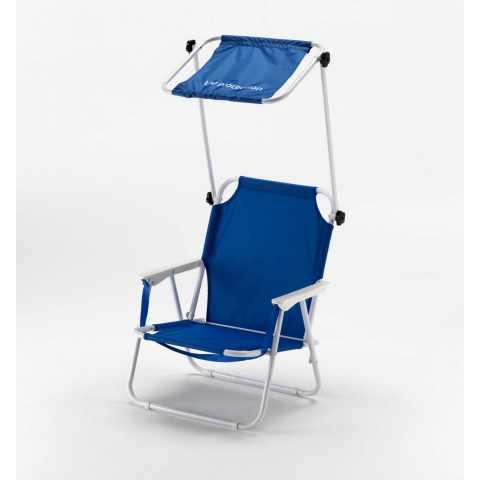 TO100UVA - Chaise pêcheur pliante transat de plage pare-soleil protection UV - trasparente