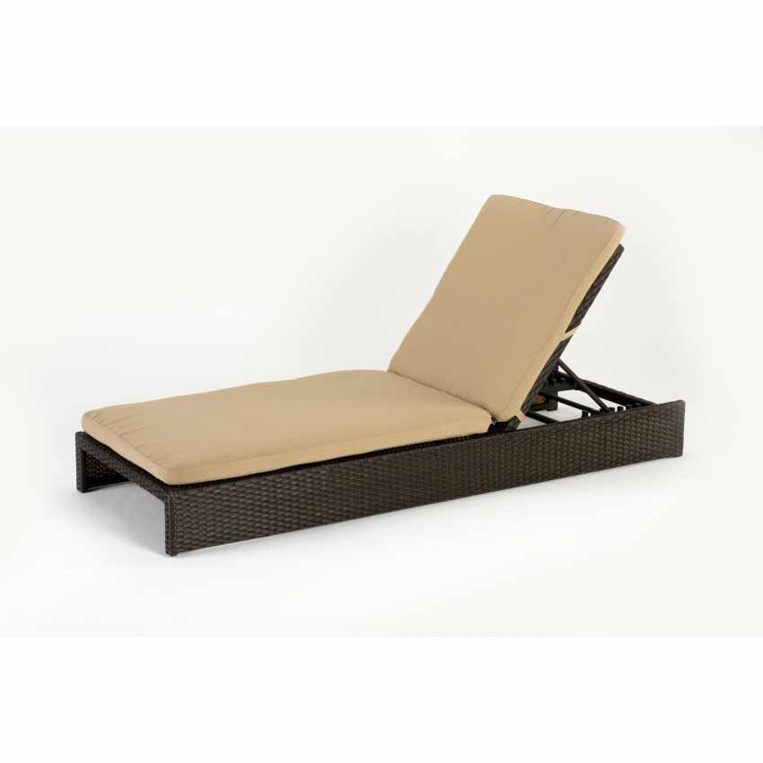 chaise longue bain de soleil lit de piscine jardin poly. Black Bedroom Furniture Sets. Home Design Ideas