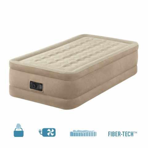 64456 - Matelas Gonflable 1 Personne Confort Intex 64456 avec Pompe Intégrée - basso costo