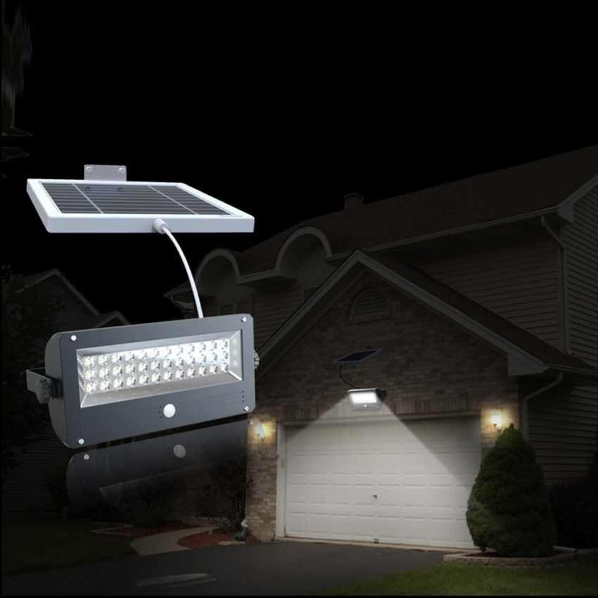 Lampe Led avec capteur crépusculaire Parc Jardin SUNLIGHT - promo