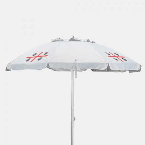 QM200UVA - Parasol de plage 200 cm antivent sardaigne QUATTRO MORI - particolare