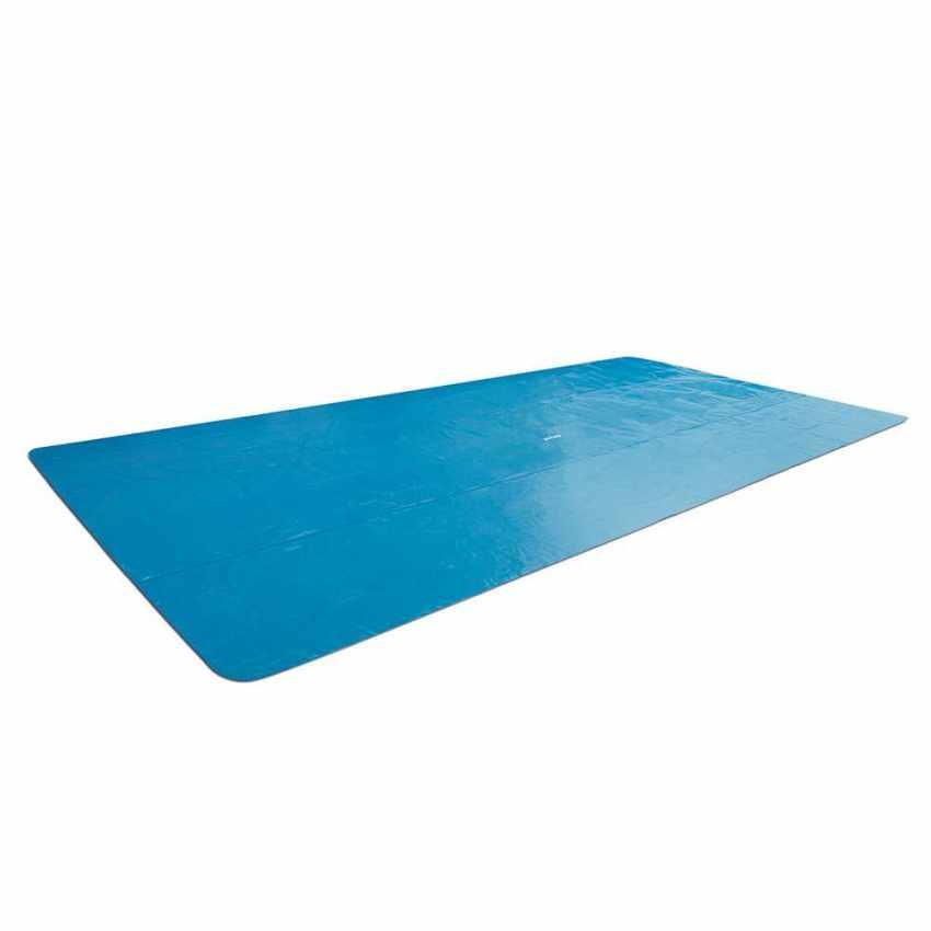 26778 - Intex 26778 ex 28318 piscine hors-sol rectangulaire Prism Frame 488x244x107 - crema