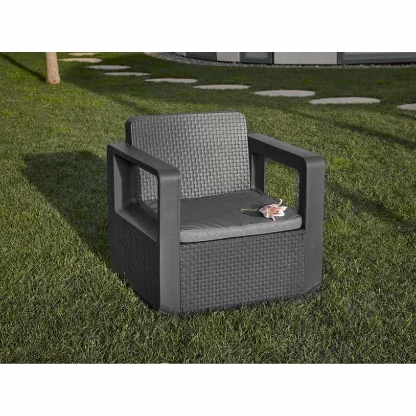 salon de jardin en r sine exterieur caf bar 4 places venus. Black Bedroom Furniture Sets. Home Design Ideas