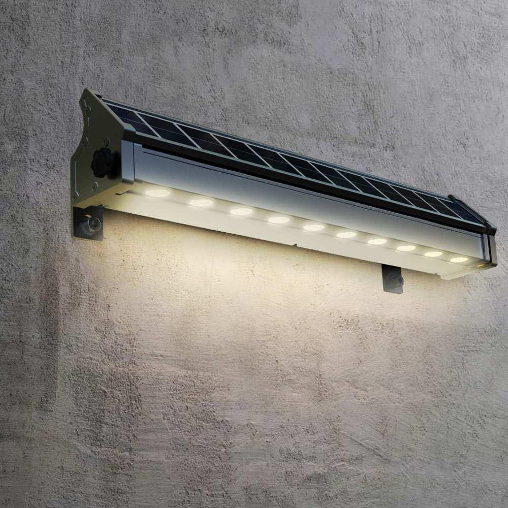 Eclairage Solaire Pour Tonnelle lampe solaire à led pour l'éclairage de panneaux publicitaires et mur  billboard
