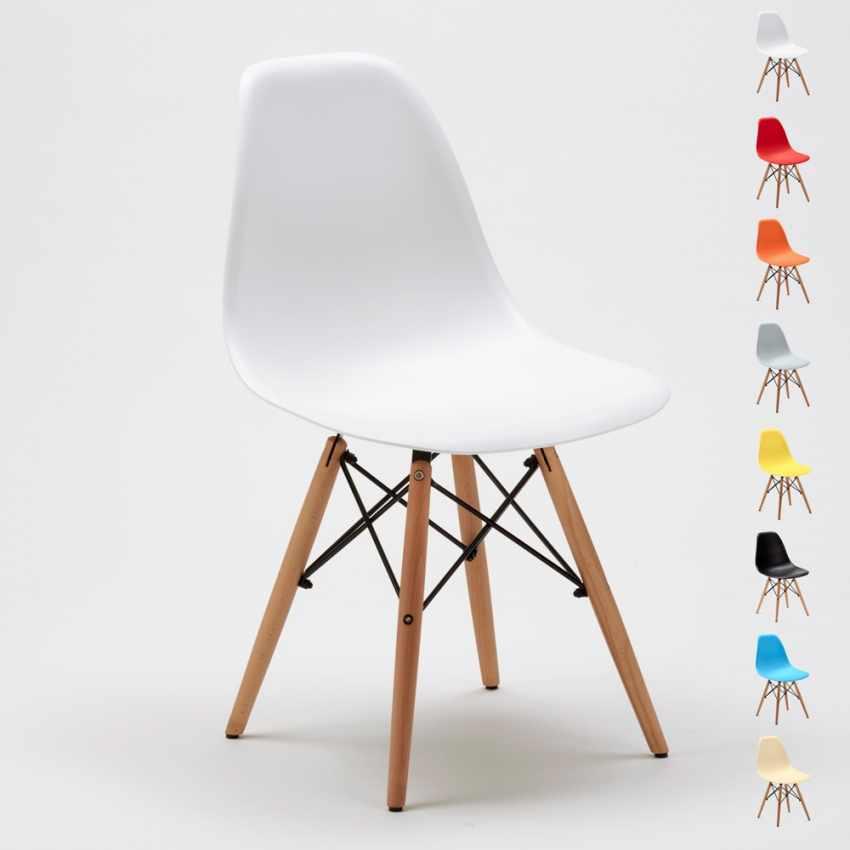 DSW Wooden Exclusive Chaise  au Meilleur Prix - vendita