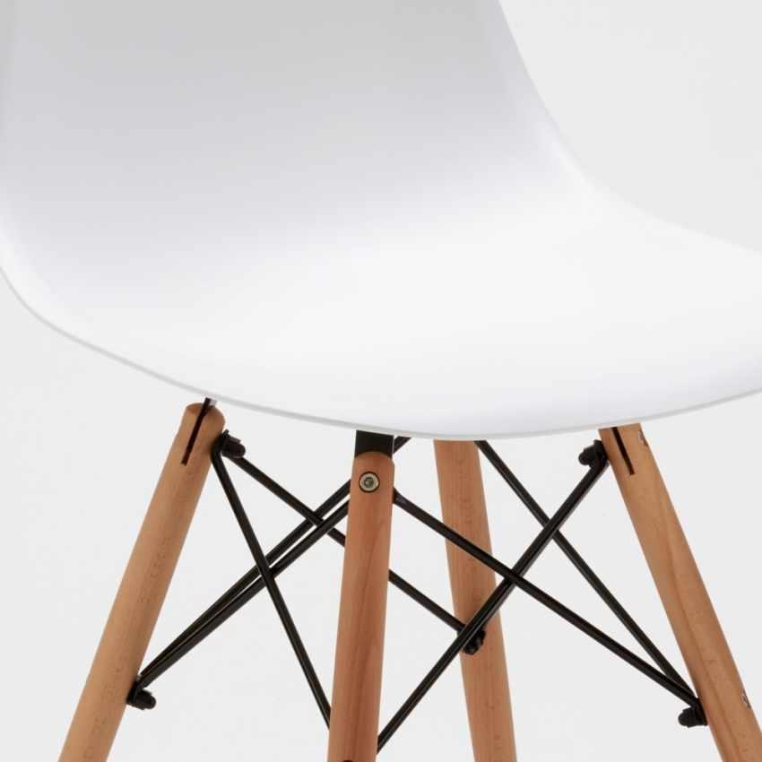 DSW Wooden Exclusive Chaise  au Meilleur Prix - immagine