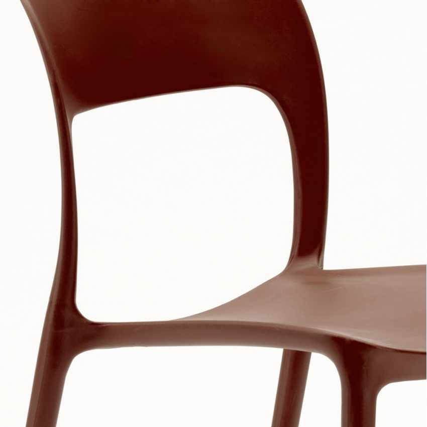 Chaise en polypropyl ne color cuisine maison bar restaurant design restaurant for Chaise design bar